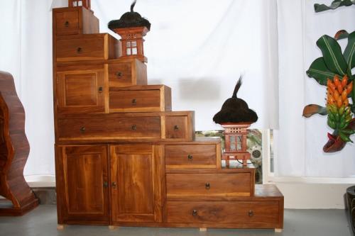 Asiaart asia art sculpture bouddha en bois pierre dragon for Meuble asiatique escalier